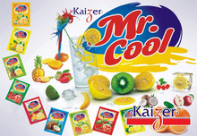 Mr COOL INSTANT DRINK JUICE WITH FRUIT FLAVOURS