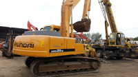 Used Hyundai Rolex 200-5D excavator hydraulic Daewoo DH220 excavator,Crawler kobelco diggers for sale