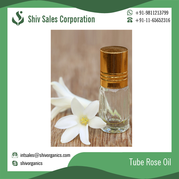 Pure Tube Rose Oil, Essential Oil Available for Bulk Sale