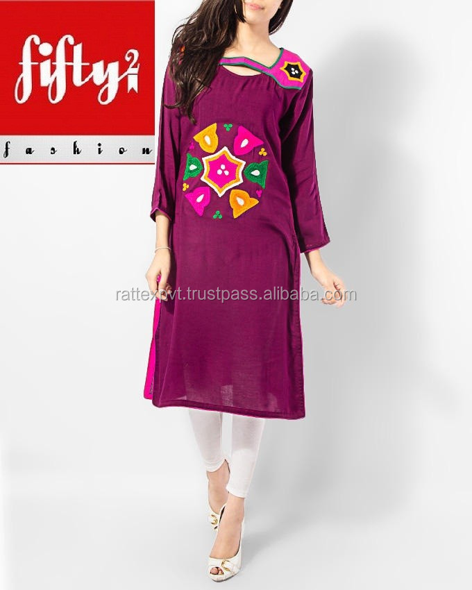 New Ethnic Clothing Design Formal Wear Kurti For Ladies
