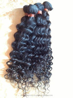 24inch natual color Virgin hair products Peruvian hair, hair extensions Wholesale with cheap price