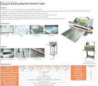 Vacuum Packing Machine (Nozzle Type)