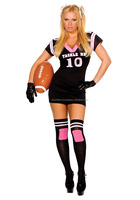 Hot Women american Football jersey with customize sublimation/