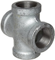 Cross Tee Pipe Fitting (Galvanized)