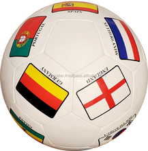 Promotional Football for Companies all sizes and colors with country flags