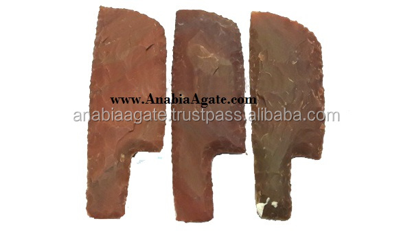 Agate Stone Knife Artifact : Stone Arrowheads : Agate Wholeasaler