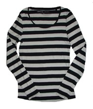 Branded Surplus Ladies Striped Long Sleeve Tops