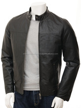 Fashion Real Genuine Cheap man leather jacket with cheap price
