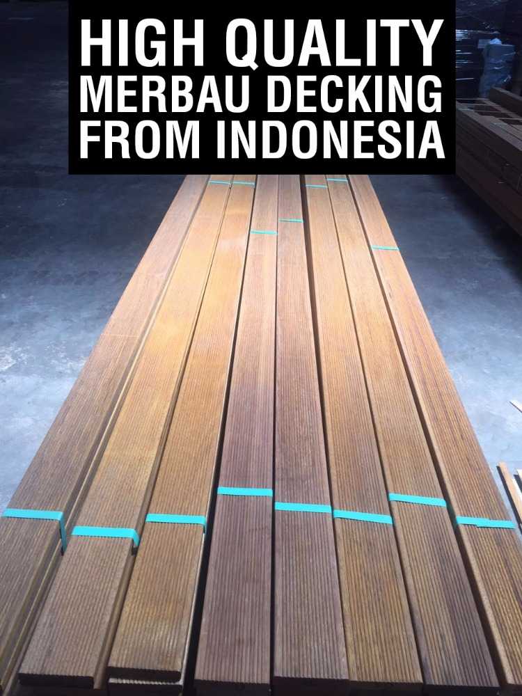 Merbau Decking made in Indonesia