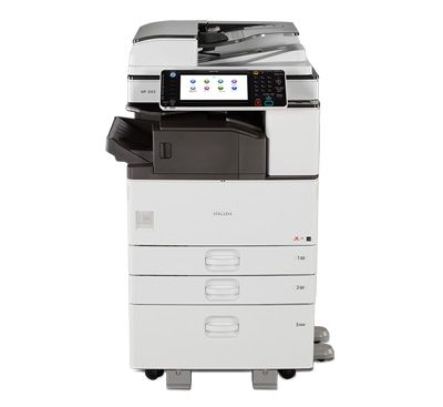 150 Used Copiers RICOH MP 3352.
