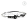 Artisan Handmade Indian Silver Jewelry Wholesale Attractive 925 Sterling Silver Elephant Bangle