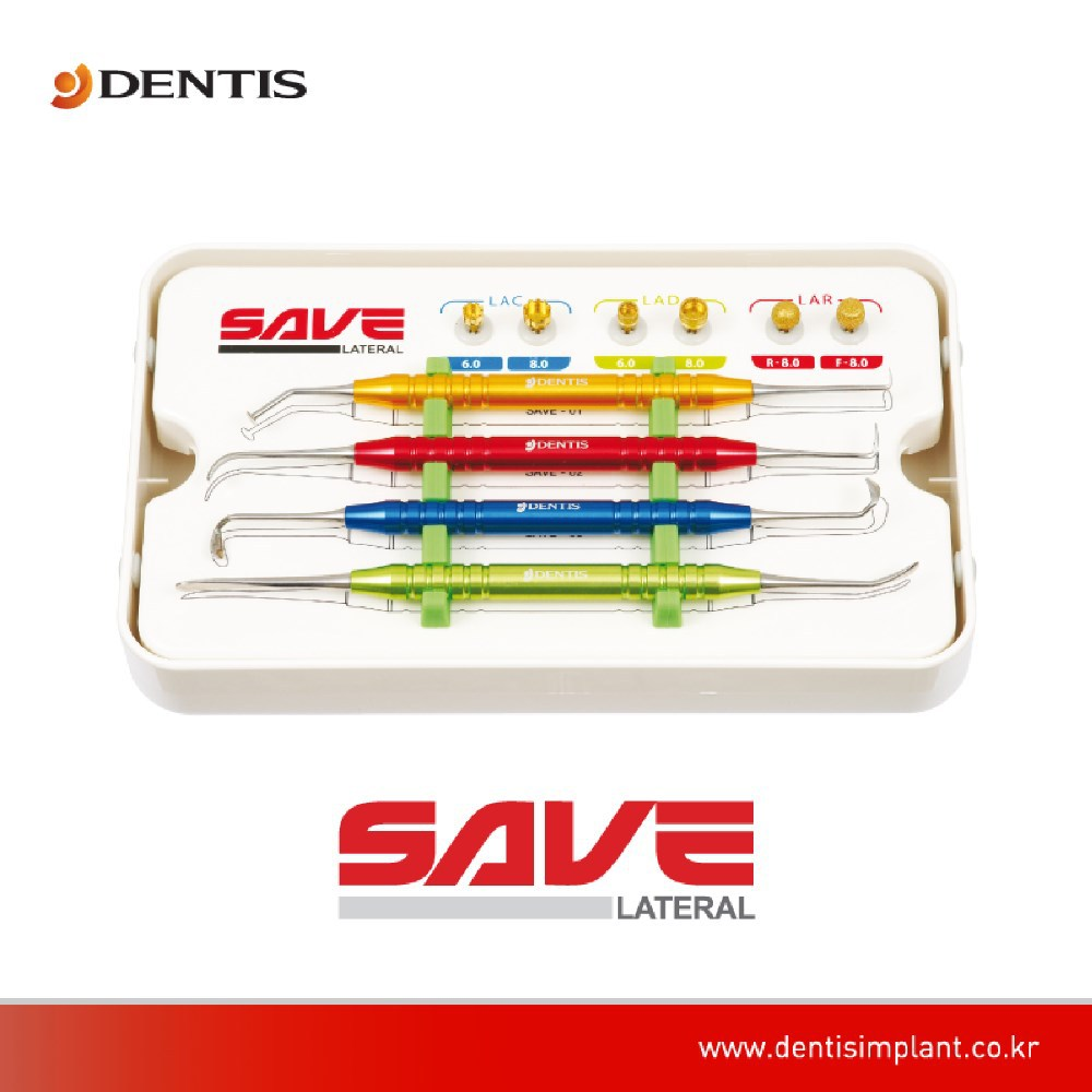 [Dentis Implant] SAVE Lateral - Sinus Kits & Instruments