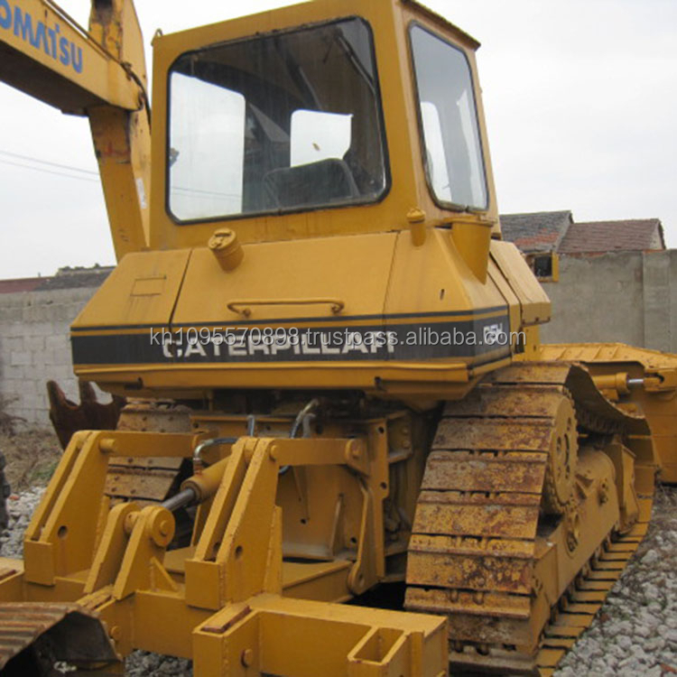 Used D5h bulldozer,Used Japan D5H dozers for sale in Shanghai