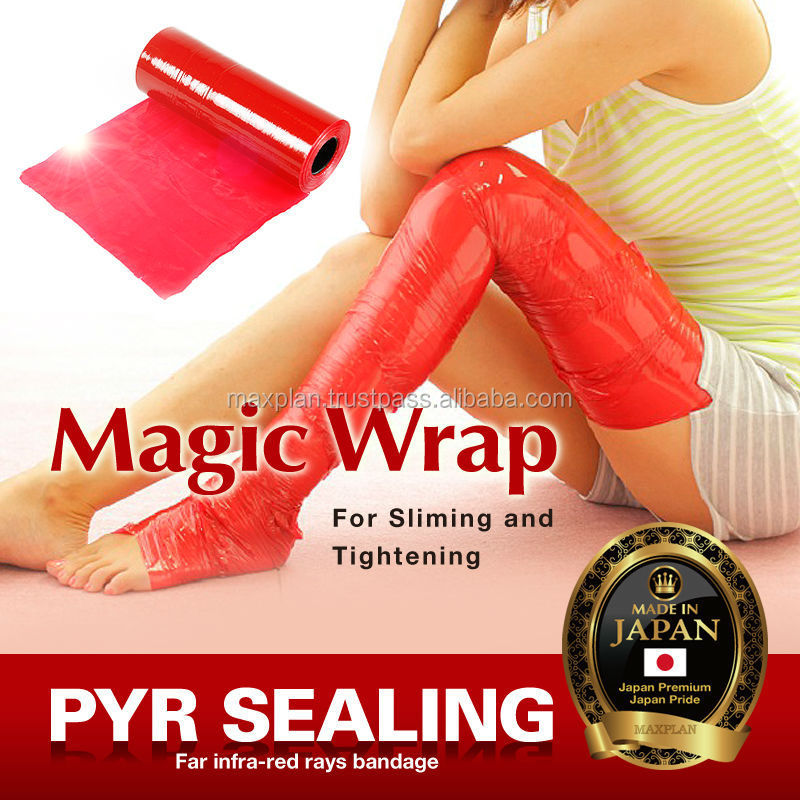Far-infrared radiation body wrap as best slimming products made in Japan