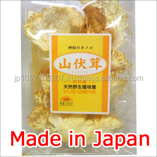 Handmade and Nutritious health and beauty products dried mushroom made in Japan