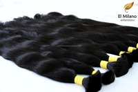 High Quality 100% Natural Virgin Unprocessed Human Bulk Hair From El Milano Extensions