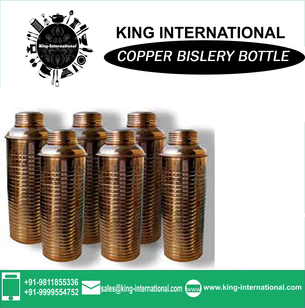 Sport Copper Copper Bislery Bottle Plain Copper Bislery Bottle Plain