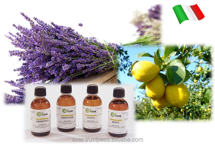 Italian aroma therapy natural essential oils for aroma diffuser and aroma oxygen bar