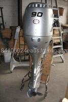 Used Honda 90HP 4 Stroke Outboard Motor Engine