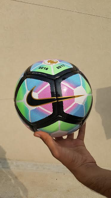 Football nike ordem replica JFFB121 pink black printing official size and weight soccer ball football