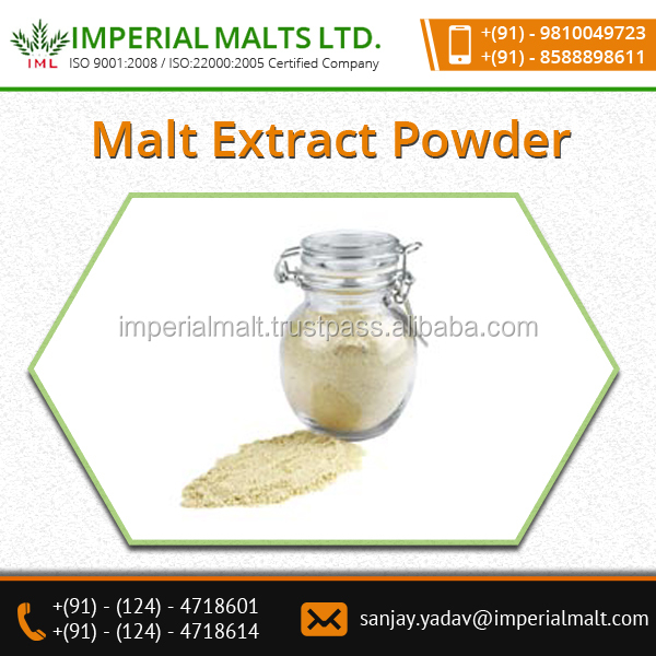 Folic Acid and Vitamin-E Contain Dry Malt Extract Powder for Easy Cooking