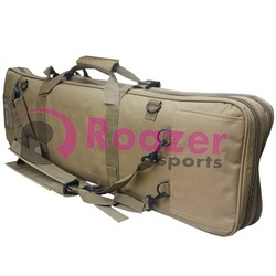 tactical hunting padded carry case air rifle gun slip bag