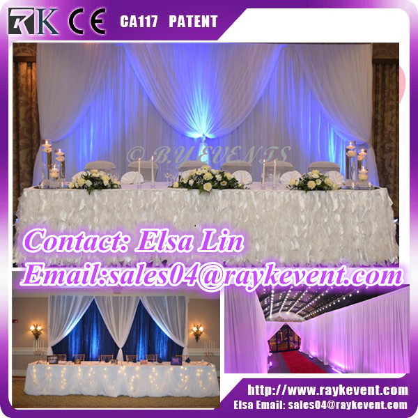 Birthday party backdrop rental curtains pipe and drape wedding pipe and drape made in China