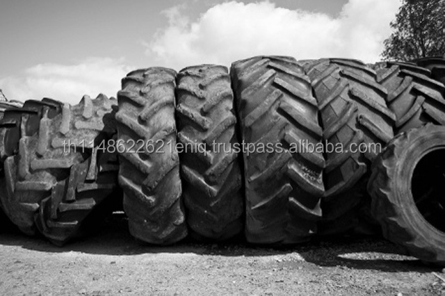 shredded Scrap Old Bale Tyres