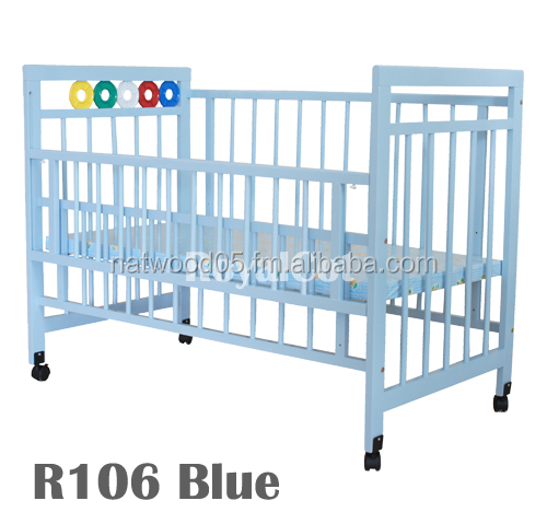 Living Bed Room Sets, Childcare Furniture, Wooden Baby Cot