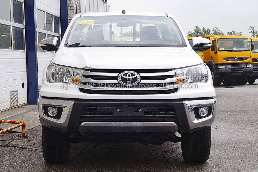 Used LHD Toyota Hilux PickUp D/Cab 2013