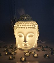 Ratna Handicrafts Electric Buddha Head Light lamp