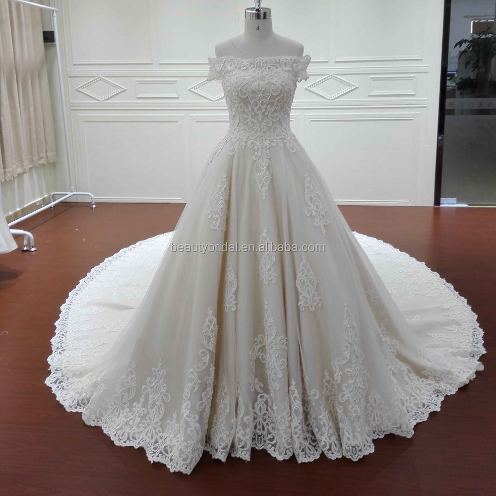 Pictures Of Latest Gowns Designs Off Shoulder Divisoria Wedding ...