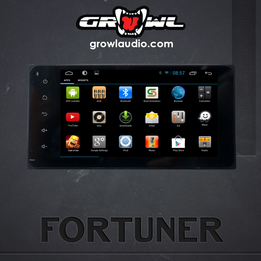 "OEM ANDROID HEAD UNIT 8"" CAPACITIVE TOUCH FIT FOR TOYOTA FORTUNER 2005-2014"