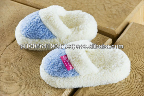 BABY Merino LOW slippers 100% wool for KIDS