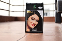 Mina Black natural Herbal Henna hair dye powder