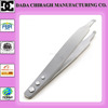 slanted tip tweezers slanted tip beaded tweezers stainless