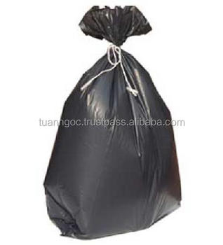 Exported to UK, Europe high quality fefuse sack/Custom garbage bag made of PE material