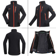 Top Design Ski Softshell Jacket Waterproof Breathable Soft Shell Winter Jacket Best Quality Fleece Lining Softshell Jackets