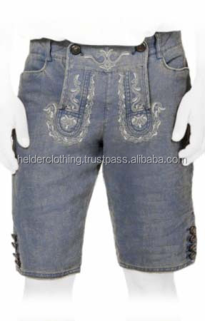 Unique Bavarian Custom Trachten jeans for Men
