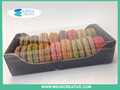 Custom Printed Carton Box , Cookie and Macaron Packaging Packaging