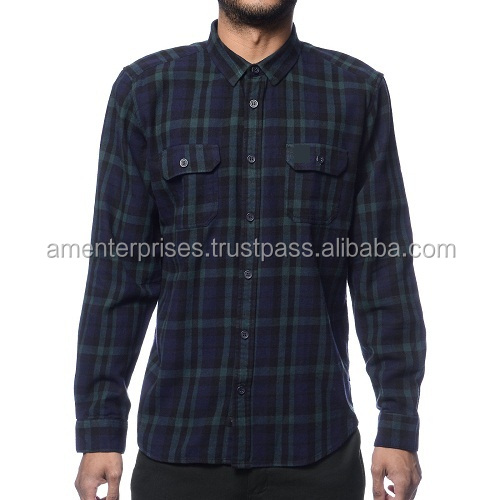 Solid color flannel shirts/custom solid color flannel shirts/Stylish solid color flannel shirts