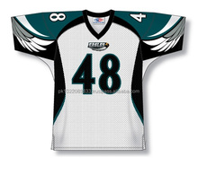 Polyester Spandex custom Sublimated Eagles American Football Jersey/Shirt