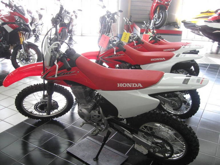 Free Shipping Used 2016 Honda CRF150F Motorcycle