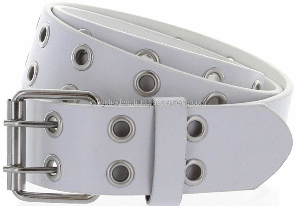 New Fashion White Color Genuine Leather Casual Jean Belt