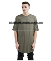 O neck t shirts-Plain cotton t-shirt Men's apparel brushed cotton / blank plain O neck t shirts wholesale in Garment factory