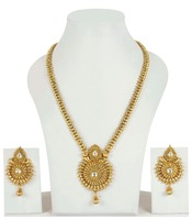 Gorgeous Indian Gold Plated Long Necklace Sets