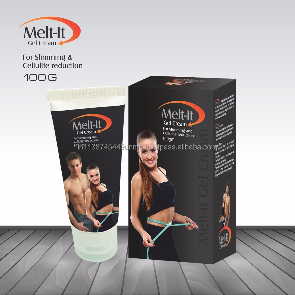 Melt-It Gel Cream - Anti Cellulite and Slimming Gel Cream with Caffeine, L-Carnitine, Lemon Oil