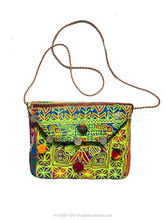 VINTAGE BANJARA TRIBAL EMBROIDERY ETHNIC GYPSY HOBO BAG