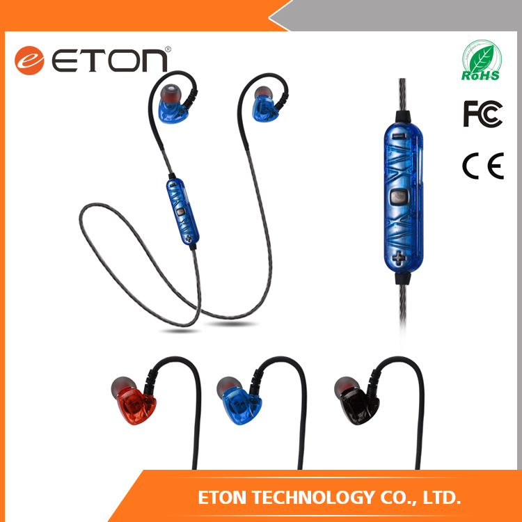 2017 High Quality new style sport bluetooth earphone for all mobile phone