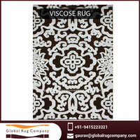 Sustainable Bamboo Viscose Rug made from High Grade Raw Material for Sale